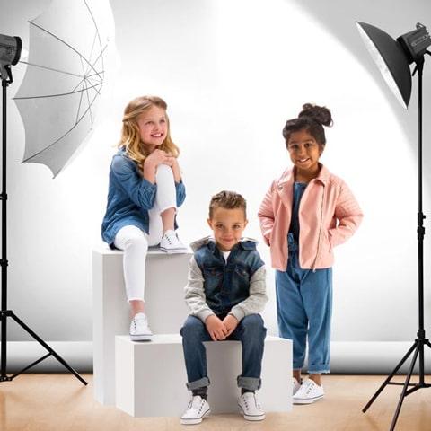 Como funciona uma agência de modelo infantil?