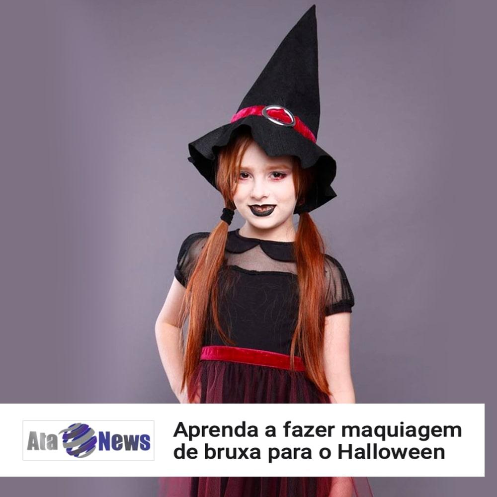 Agência de Modelo | Tutorial | Halloween | Maquiagem de Bruxa | Max Fama