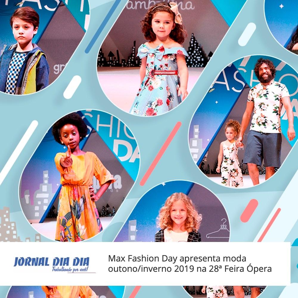 Agência de Modelo | Max Fashion Day | Max Fama