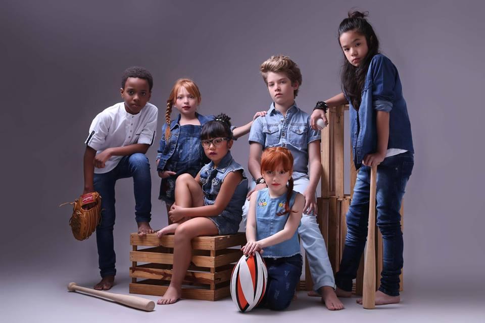 Agencia de modelos para criança