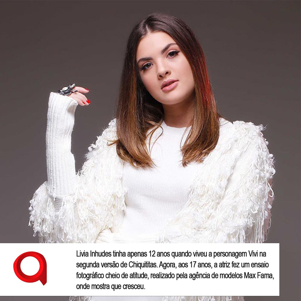 Agência de Modelo | Editorial | Lívia Inhudes | Max Fama