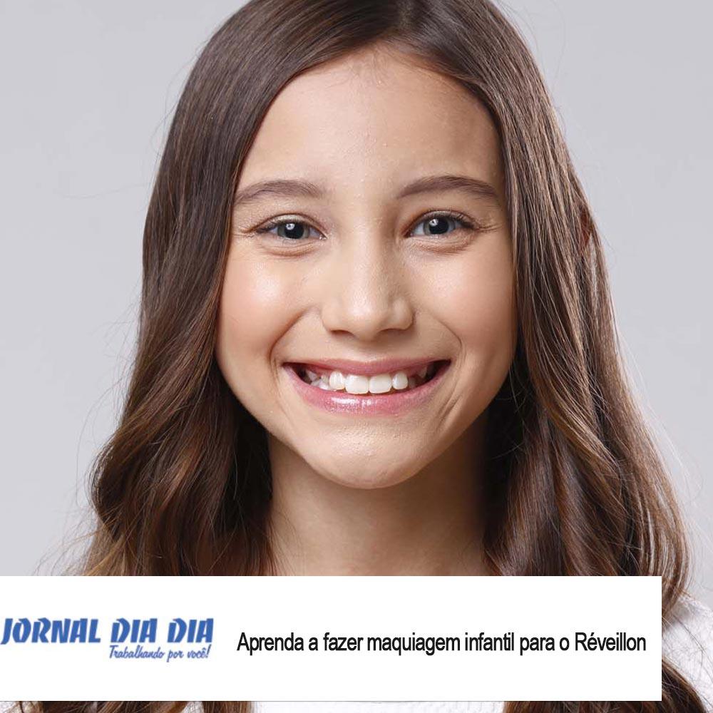 Agência de Modelo | Maquiagem Infantil Réveillon | Max Fama