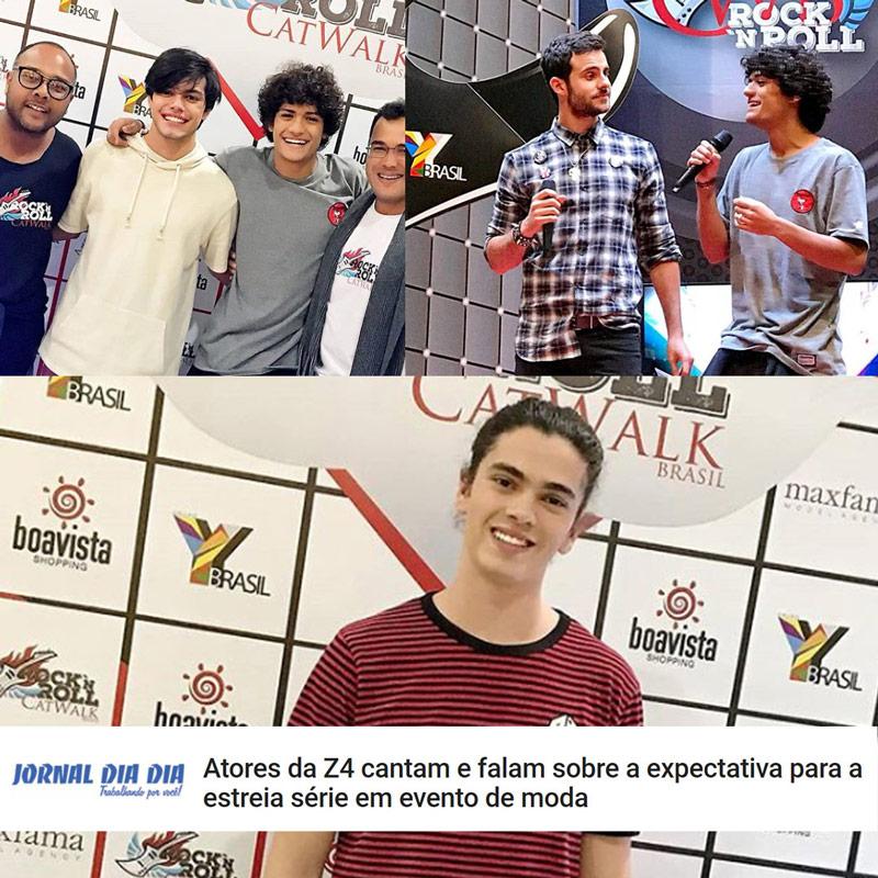 Catwalk Brasil - Rock'n'Roll | Z4 No Catwalk | Ovelha no Catwalk | Agência de Modelo