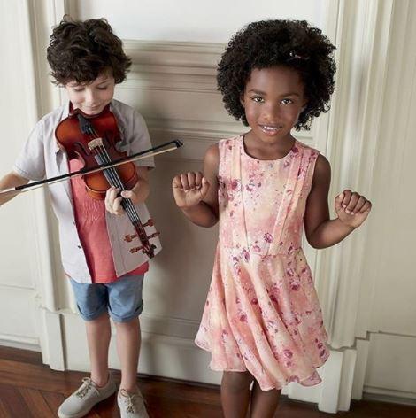 agencia de modelo infantil