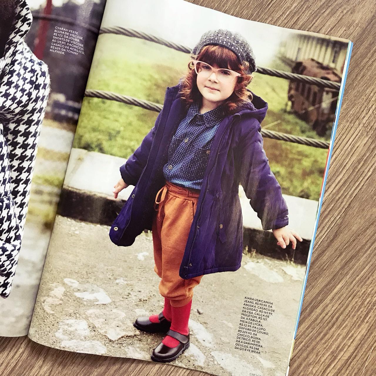 Revista Crescer | Julho | Agência De Modelo | Agência De Modelos Max Fama
