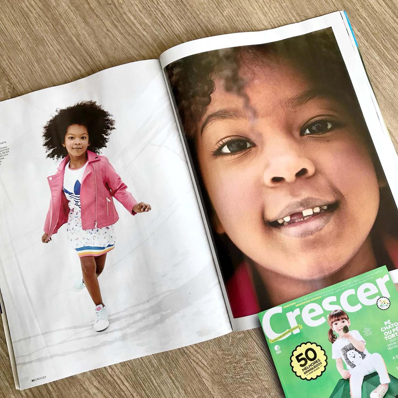 Revista Crescer | Setembro | Agência De Modelo | Agência de Modelo Max Fama