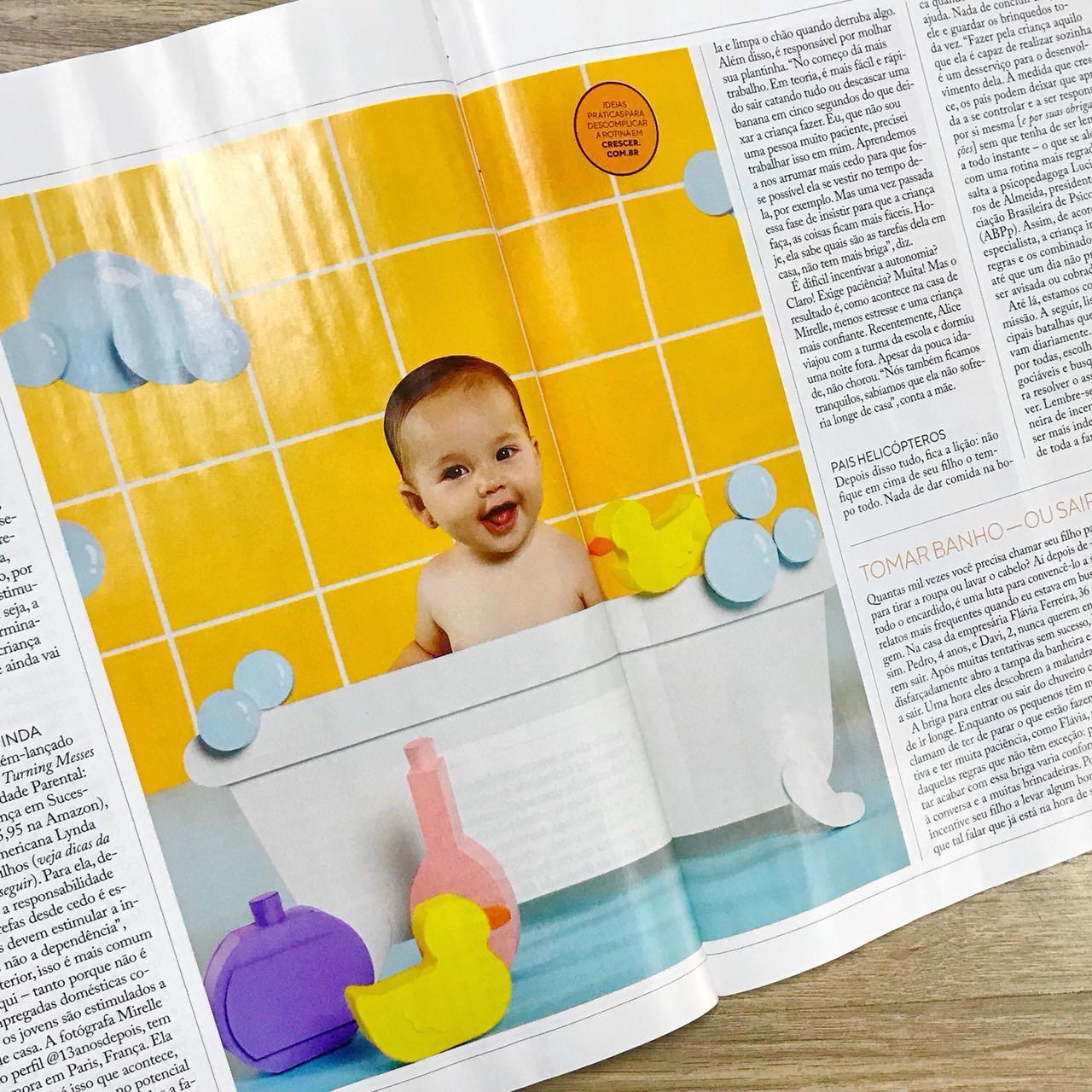 Revista Crescer | Maio | Agência De Modelo