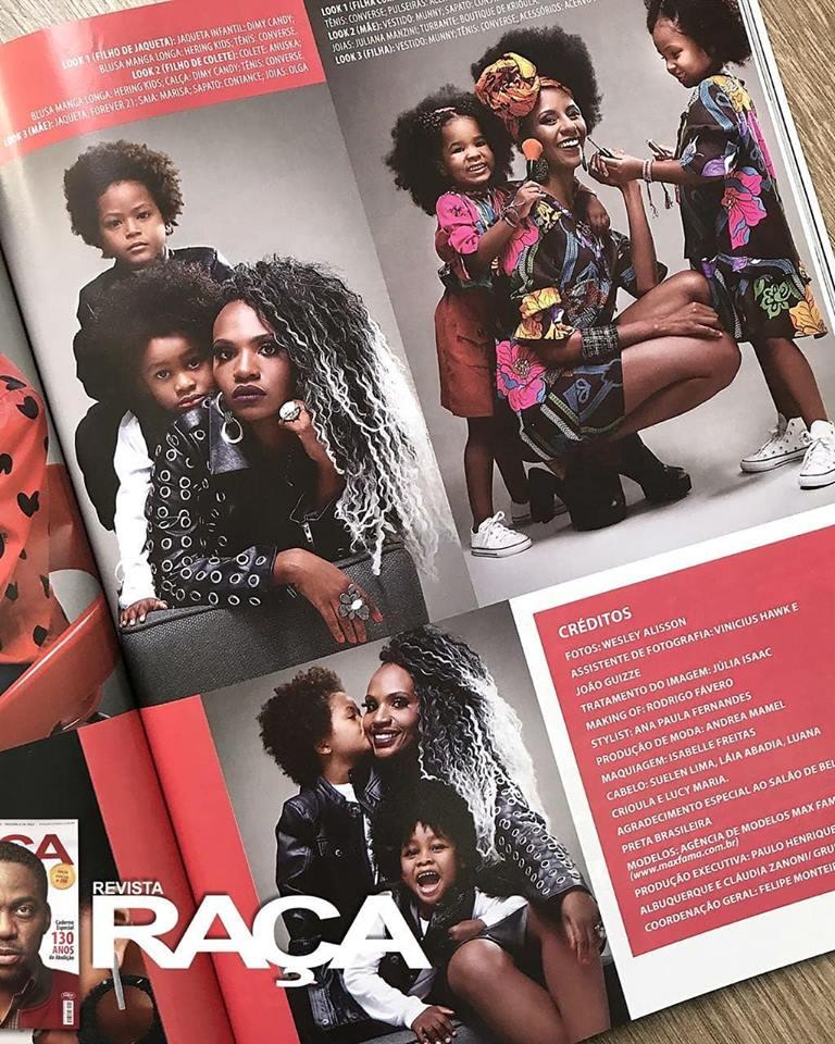 Revista Raça | Edição 200 | Agência de Modelos